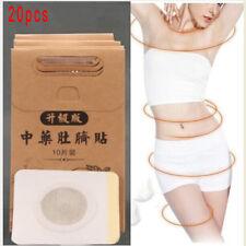 20pcs chinese medicine weight loss slim patch pads detox adhesive sheet BI