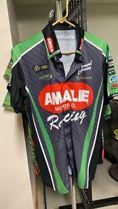 Terry McMillen AMALIE Race Worn team shirt.