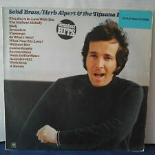 "Herb Alpert & The Tijuana Brass – Solid Brass - Greatest Hits (Vinyl 12"", LP)"
