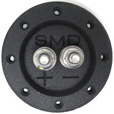 Steve Meade SMD Single Box Terminals Heavy Duty Stainless Hardware PVC Black