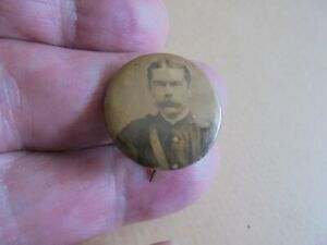 EXTREMELY RARE BOER WAR PERIOD PHOTO BADGE REF 356
