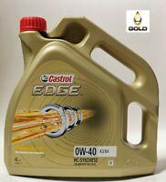 0W-40 Castrol EDGE TITANIUM FST 4 Liter Motorenöl  A3,B4