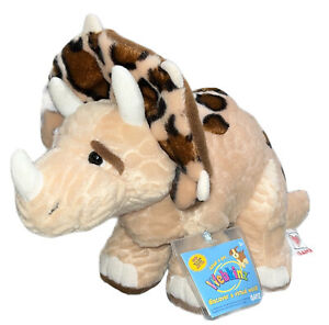 Ganz Webkinz Triceratops Stuffed AnImal Plush Toy HM422 New Unused Sealed Code