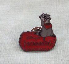 Rare Collectable Disney Meeko From Pocahontas Cartoon Film Enamel Pin Badge