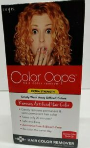 Developlus Color Oops Extra Strength Hair Color Remover