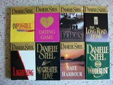# 7 -13 DANIELLE STEEL HARDBACK BOOKS NO DOUBLES FREE SHIPPING