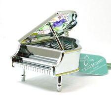 CRYSTOCRAFT Freestanding Swarovski Crystal Piano Ornamental