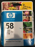 Hp 58 Photo Tri-color Ink Cartridge C6658AN New Sealed Expired June 2008 Inkjet