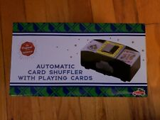 Automatic Card Shuffler Holds 1-2 Decks includes 1 deck of new playing cards New