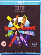 Depeche Mode: Tour of the Universe - Barcelona 20/21:11:09 Blu-ray NEW