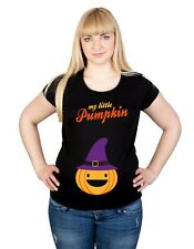 Maternity Halloween Spooky Pumpkin S-XXL Top T-Shirt Cotton Pregnancy Funny Gift