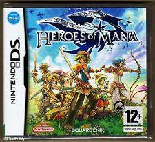 Nintendo DS Heroes Of Mana ( 2007 ) UK Pal, Brand New & Nintendo Factory Sealed