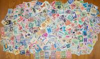 MONDE : AFRIQUE - AMERIQUE - ASIE 500 timbres anciens diff de 50 ans et + -Lot A
