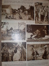 Photo article Dutch police in Java Indonesia a cease fire called 1947
