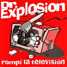 """7"""" DOCTOR EXPLOSION rompi la television / comanche 45 SPANISH 1994 GARAGE mod"""