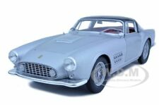 FERRARI 410 SUPERAMERICA SILVER 1:18 DIECAST MODEL CAR BY HOTWHEELS T6243