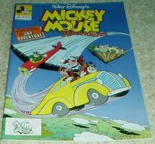 Walt Disney's Mickey Mouse Adventures 10, NM- (9.2) 1991 Bill Wright art!