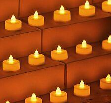 120Pcs Led Flameless Tealight tea lights Candles Electric LED Candle Home Decor