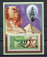 27521) Guinea 1992 MNH New Zeppelin S/S Bf