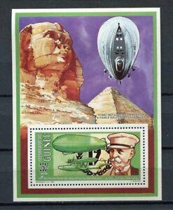 27521) GUINEA 1992 MNH** Nuovi** Zeppelin  S/S BF