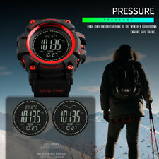 SKMEI Men's Digital Sport WristWatch Altimeter Barometer Thermometer Compass New
