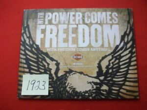 """2012 HARLEY DAVIDSON """"WITH POWER COMES FREEDOM"""" ALL NEW MODELS SALES CATALOG"""