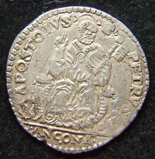 STATO PONTIFICIO GREGORIO XIII TESTONE ANCONA QSPL RARO (ID 50486)