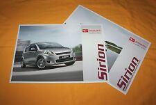 Daihatsu Sirion 2010 Prospekt Brochure Depliant Prospetto Catalog Folder