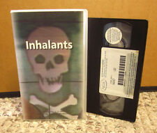 INHALANTS chemical substance abuse VHS peer pressure & teen education huffing