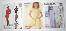 McCalls 7260 Sew News 6424 Super Saver 7527 Dress Jacket Jumpsuit  Sz 12 14 16