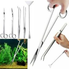 5 in 1 Aquarium Tools Kit Aquascaping Tank Aquatic Plant High Quality Tweezers