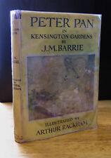 PETER PAN IN KENSINGTON GARDENS FROM THE LITTLE WHITE BIRD (1957) ARTHUR RACKHAM