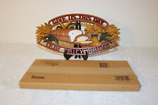 Homco Home Interiors 1165 Give Us this Day our Daily Bread Metal Plaque
