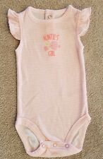SWEET! NWOT BABY JUST ONE YOU BY CARTER'S 3 MONTH PINK AUNTIE'S GIRL BODYSUIT