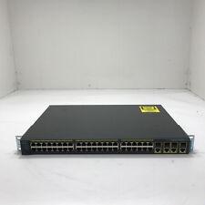Cisco System WS-C2960G-48TC-L 48-Port Switch
