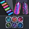 Born Pretty Chameleon Nail Sequins Colorful Irregular Glitter Powder Flakes Tips