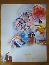 2003 Walt Disney World 100 Years of Magic Celebration EPCOT Poster MICKEY MOUSE