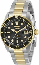 Invicta Women's 30483 Pro Diver Quartz 3 Hand Black Dial Watch