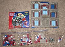 2004 Mega Bloks Marvel Spider-man vs Doctor Octopus Bank Building Set #1911