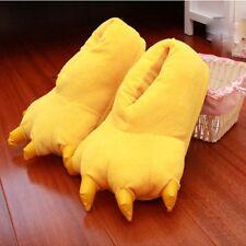 MonkeyEAT Monster Claw Plush Slippers Yellow