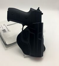 Fits SIG P229 P228 | Tagua PD3-420 OWB Open Top Paddle Holster Black Leather RH