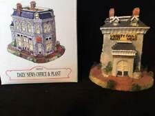 Liberty Falls Collection Daily News Office & Plant AH43 in Original Box EUC