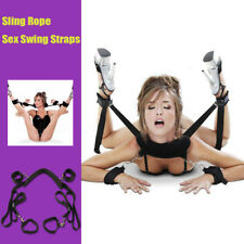 Adult Sexy Couples Game Door Hanging Swing Toys SM Sling Adjustable Straps Toy