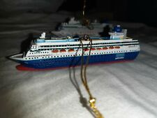 Sovereign Mini Ship Model. Pullmantur Cruise Ship Model. Hanging Ornament