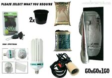 Best Complete Hydroponic Small Grow Room Tent Canna CFL Light Kit 60x60x160