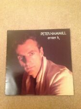 PETER HAMMILL Enter K VINYL LP +Inner Sleeve 1982 1st PRESS LOOKS UNPLAYED
