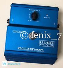 Rocktron Hush Noise Reduction Gate Decimator High Gain Overdrive Distortion Hiss