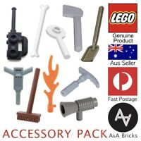 Genuine LEGO® Minifigure - Accessory Starter Pack - Bulk Buy - 10 Accessories