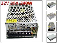 20A 240W LED Driver Strip Light Transformer for 5050 5730 Power Supply 110V/220V