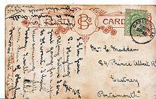 Genealogy Postcard - Family History - Madden - Eastney - Portsmouth  A6526